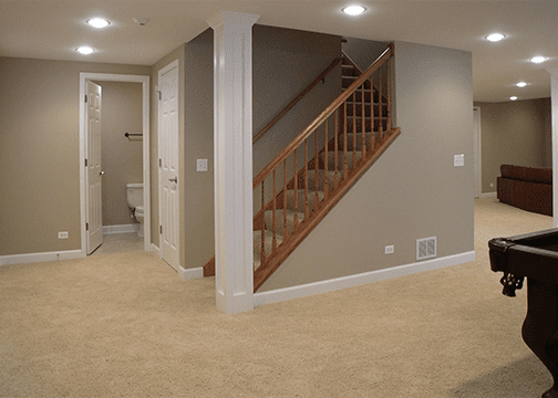 Emergency Basement Finishing Finish Basement And Man Caves In Mesmerizing Basement Remodeling Service